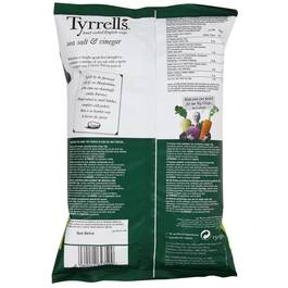 Tyrrell 39 s chips sel de mer vinaigre 150g for Desherbant naturel vinaigre sel