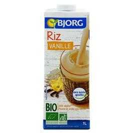 Bjorg Boisson riz vanille bio