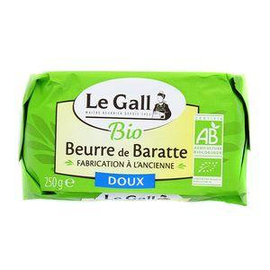 Le Gall Beurre moulé bio doux