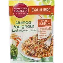 Gayelord Hauser Quinoa Boulgour - Boeuf & Léfumes cuisinés