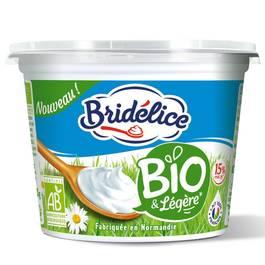 Bridélice Crème légère bio 15% de MG