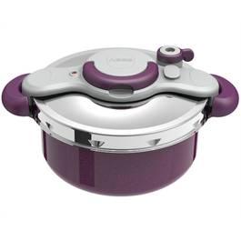 seb autocuiseur clipso duo violet 5l. Black Bedroom Furniture Sets. Home Design Ideas