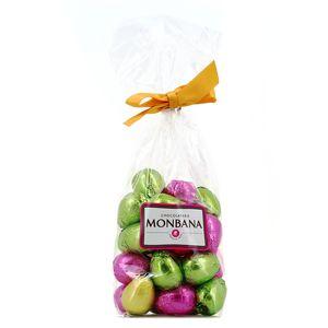 Chocolaterie Monbana Sachet d'œufs au praliné 4 recettes