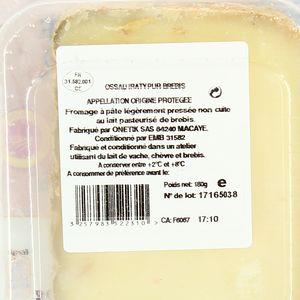 Patrimoine Gourmand Fromage de brebis Ossau Iraty