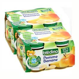 Blédina Pommes banane, dès 4 mois