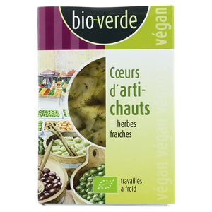 BioVerde Coeurs d'artichauts bio aux herbes fraîches