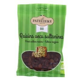 La patelière Raisins secs sultanines bio