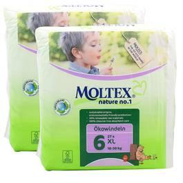 Couche eco XL 16-30 kg , Lot de 2 paquets de 28 couches,MOLTEX,les 2 paquets de 28 couches
