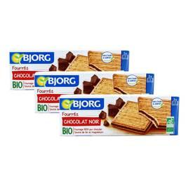 Bjorg Fourrés au chocolat noir bio