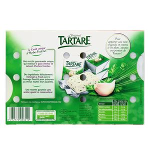 Tartare Fromage Ail & Fines Herbes, 16 portions
