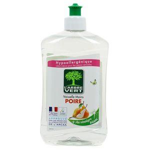 L'arbre Vert Liquide vaisselle mains poire au vinaigre blanc écologique