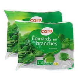 Cora Épinards en branches