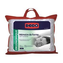 Dodo oreiller m moire de forme 40x60 cm - Oreiller memoire de forme dodo ...