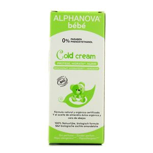 Alphanova Cold cream crème hydratante, Cosmébio