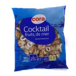 Cora Cocktail de 3 fruits de mer- Moules, Calmar, Crevettes