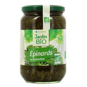 Jardin Bio Epinards en branches bio