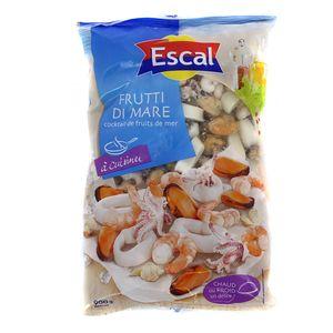 Escal Cocktail de fruits de mer- Crevettes, Moules, Calmars, Encornets, Seiches et Vénus