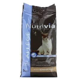 NUTRIVIA Croquettes Nutrivia Chat allégé à la dinde