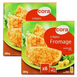 Cora 12 Crêpes fromage