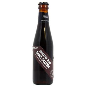 Brasserie De Vezelay Bière Brune Bio sans gluten 5.5°