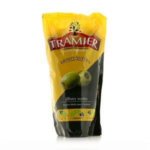 Tramier Olives vertes dénoyautées