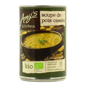 Amy's Kitchen Soupe Bio de pois cassés sans gluten