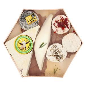 Les Petites Laiteries Cagette de fromages au Lait cru de chèvre du Tarn