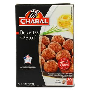 Charal 30 Boulettes de boeuf 15% Mg