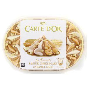 Carte d'Or Crème glacée Cheesecake Caramel salé façon glacier 900ml