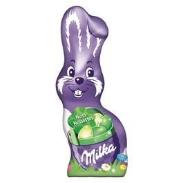 Milka Lapin au chocolat au lait aux noisettes