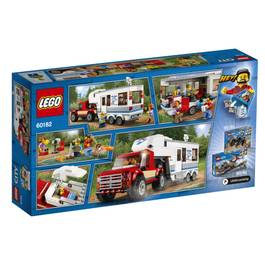 LEGO® City 60182- Le pick-up et sa caravane