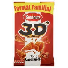 Benenuts Biscuits apéritifs goût cacahuète