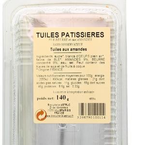 Astruc Pâtisserie Tuile aux amandes
