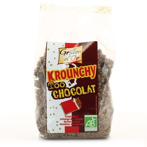 Grillon Or Krouchy too choco, bio