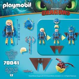 PLAYMOBIL® Dragons Astrid avec Globegobeur