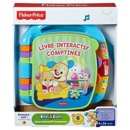 Fisher-Price Livre interactif comptines- CDH39