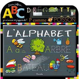 J'ecris, j'efface- L'alphabet