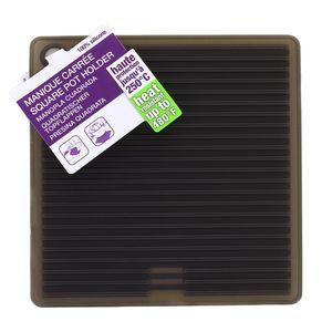 Mastrad Manique carrée en silicone Noire