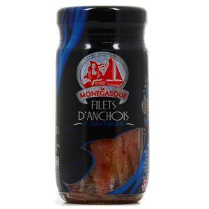 Vanelli Anchois à l'huile pot verre