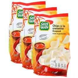 Suzi Wan Chips à la crevette