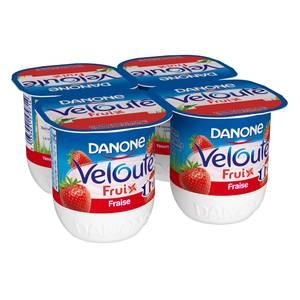Danone Velouté Fruix aux fraises
