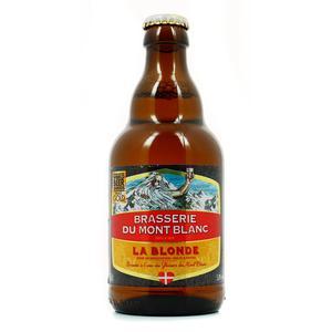 Brasserie Du Mont Blanc Blonde du Mont Blanc 5.8°