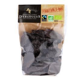 Chevalier D Argouges Friture en chocolat noir bio