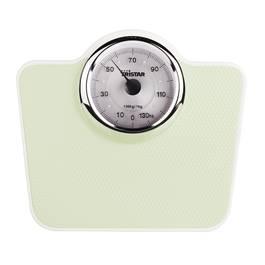 Tristar Pèse-personne mécanique Trapèze Vert, Blanc WG-2428