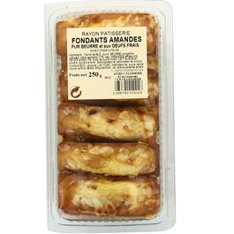 16 madeleines longues aux amandes Astruc boite 250g