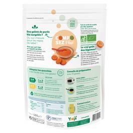 Yooji Purée de carottes bio surgelée en portions dès 4 mois