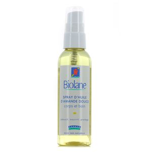 Spray d'Huile d'Amande Douce,BIOLANE,75ml