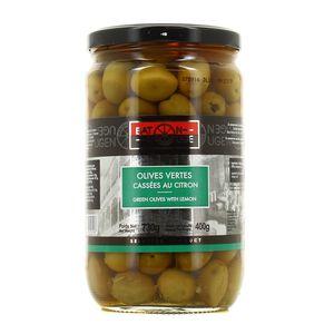 Baton rouge Olives vertes cassées au Citron