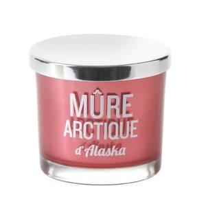 Devineau Bougie sérigraphiée rouge Parfum Mûre d'Alaska