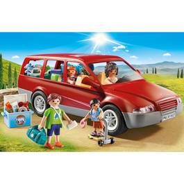 PLAYMOBIL® Family Fun Famille avec voiture